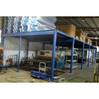 深圳市兄弟货架—一层蓝色阁楼货架