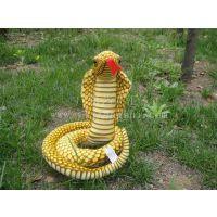 厂家直销 动物雕像 仿真蛇 仿真动物 创意工艺品