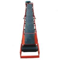 按客户要求制作PVC格挡式输送机 兴亚水平输送机设备
