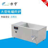 方宁大型油炸设备食品厂电磁单缸炸炉