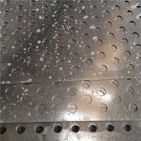 定制镀锌多孔过滤管 水处理管冲孔 圆孔冲孔厂家【至尚】圆孔