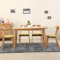 山东德州宁津江山木业生产北欧简约桌椅JS-1厂家直销
