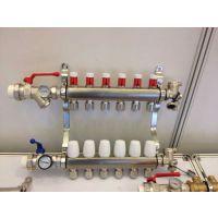 山东地暖分集水器、分水器厂家