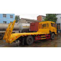 杭州1.0L楚风平板运输车平板拖车厂家价格可分期