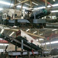 石灰石移动破碎站将助力杭州T4航站楼建设 (10-15mm)玄武石移动加工生产设备