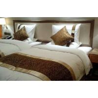宾馆布草厂家HJD-22红金顶贡缎优质床品六套件