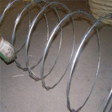 新疆刀片刺绳 PVC刺绳 高铁专用刺丝滚笼