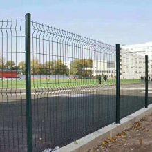 佛山库房喷塑铁栏杆包安装 深圳学校外围包塑隔离网直销厂家