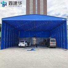 杭州订做仓库大型帐篷 可折叠帆布雨棚布 淳安县钢结构雨蓬公司