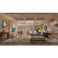 绿地翠谷别墅装修 渝北天古装饰轻奢风格案例设计