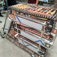 链条机自动旋转点焊烧烤设备 崇胜机械制造
