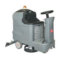 苏州环氧树脂晶面地坪用小型驾驶式洗地车座驾式电动洗地机厂家L85BT70乐普洁