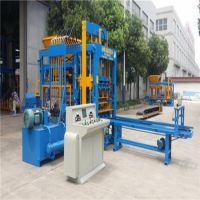 郑州奇工机械供应5-15多功能全自动面包砖机 植草透水砖机 步道海绵砖机