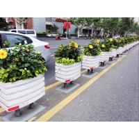 PVC微发泡园艺树围座椅花箱 城市道路市政工程园林景观pvc道路花箱批发