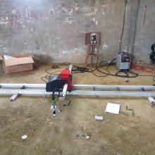 西安上海华威 1.8米 小型数控切割机 陕西经济型数控火焰切割机销售维修