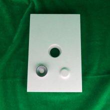 江苏泰州厂家供应 抗冲击 耐高温 焊接式带孔耐磨陶瓷衬板(150*50*10)
