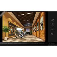 郑州专业展厅装修 郑州御胜汽车展厅设计装修案例
