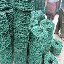 铁路防护网 带刺铁线 双捻钢丝网