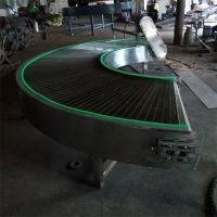 山东强盛机械设备厂专业供应 不锈钢网带转弯机 输送机