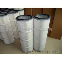 万泽硅胶厂铁粉回收卡盘除尘滤芯 除尘滤筒