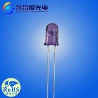 插件红外发射二极管 5mm红外灯发射头 紫色胶体850 兴合盛供应
