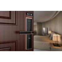 中兴指纹密码锁四种开门方式,为你的家换一个更炫的开门方式