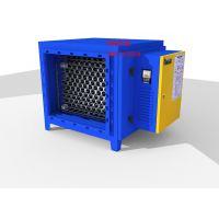 科绿环保 厂家直销圆筒蜂窝型低空系列6000风量油烟净化器