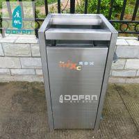 度帆不锈钢户外垃圾桶 小区公园 街道垃圾桶 景区不锈钢垃圾桶