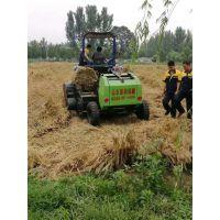 牧草秸秆揉丝打捆机 黑麦草秸秆粉碎圆捆机生产厂家