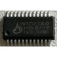HBS117 SSOP24 LED驱动显示芯片 小体积超高性价比 原厂现货