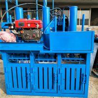 云立达单杠30吨编织袋吨包袋液压打包机 化纤废品液压打包机