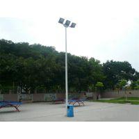 康腾体育厂家直销热镀锌篮球场灯柱 室外足球场灯杆批发,灯具照明工业安装方法