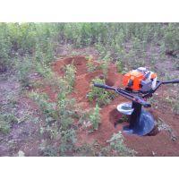 西安汽油机地钻、西安汽油挖坑机、汽油地钻打坑机