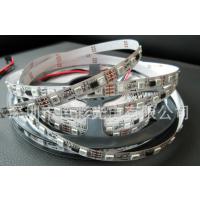 厂家供应WS2811 5050RGB灯条 30灯/米 DC12V 白板/黑板 幻彩灯条