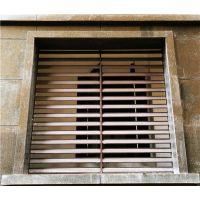 固格澜栅 厂家直销 空调飘窗护栏 百叶窗栅栏 接受定制