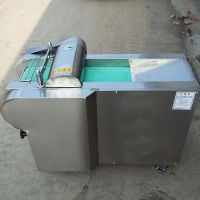 不锈钢型木耳切片机 启航鲜竹笋切丁机 蒸包铺用芹菜切段机价格