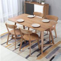 天津实木餐桌椅 松木实木餐桌椅 榆木实木餐桌椅