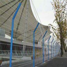 运动场隔离栅价格 工业发展区围栏网 单位绿地防护护栏网