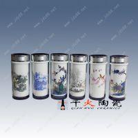 唐龙陶瓷 景德镇年终活动礼品陶瓷保温杯定制厂家