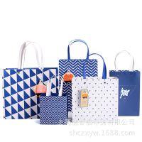烘焙纸袋 文艺几何 服装购物 高档化妆品广告袋 通用包装 可设计定制