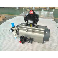 AT-DA92 fluitech 双作用气动执行器 球阀气缸 无锡阀门控制器 SIL3认证标准气缸