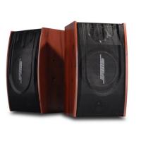 专业定制家庭ktvBX-118 家用卡拉OK全频音响 木制木纹红
