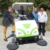 河北驾驶式电动扫地车|小林牌XLS-1750电动清扫车