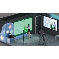 慕课微课,高清4K慕课师生投屏互动系统,4K微课演播室建设背景素材下载