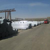 天津华新达直发热镀锌管,镀锌带管、品种齐全 q235b热镀锌钢管