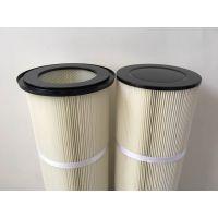 焊接烟尘除尘滤芯 PTFE覆膜除尘滤筒 覆膜粉尘滤筒