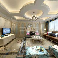 翡翠御园装修|南岸翡翠御园装修,重庆南山别墅装修心动的法式风格