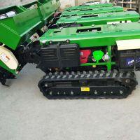 启航果园自走式旋耕施肥机 可转弯28马力履带式开沟机 低矮除草机价格