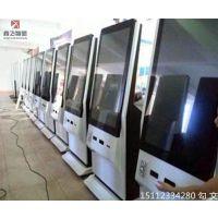 鑫飞智显 xf-gw43w 43寸微信广告机 微信照片一体机微信打印机智能吸粉广告机