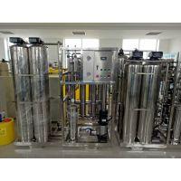 2吨标准水厂QS认证国标纯净水设备,卖好水来百川